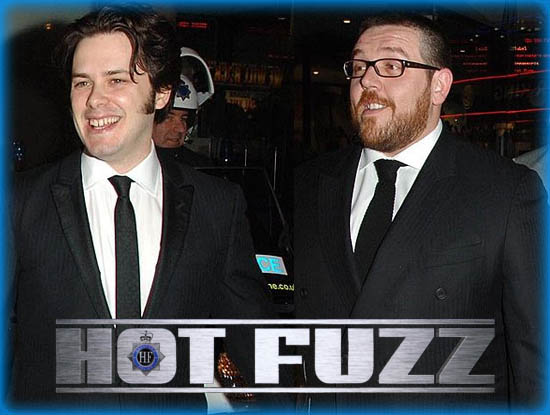 """Interview: Edgar Wright and Nick Frost from """"Hot Fuzz"""""""