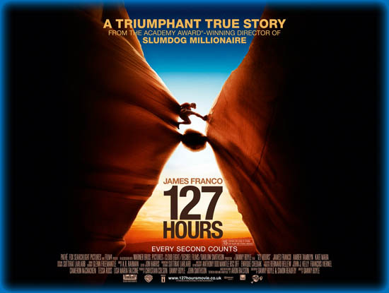127 hours essay Allahrakka rahman known professionally as a r rahman, is an indian  composer,  his work in 127 hours won him golden globe, bafta, and two  academy award nominations (best original music score and best original song)  in 2011.