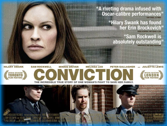 Conviction  >> Conviction 2010 Movie Review Film Essay