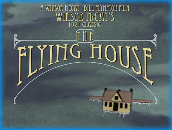 Dreams of the Rarebit Fiend: The Flying House (1921)