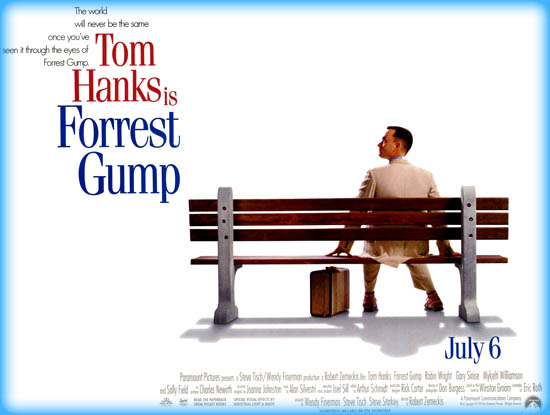 forest gump thesis You have not saved any essays forrest gump is the story of a man who overcomes numerous obstacles throughout different stages of his life and always seems to see.