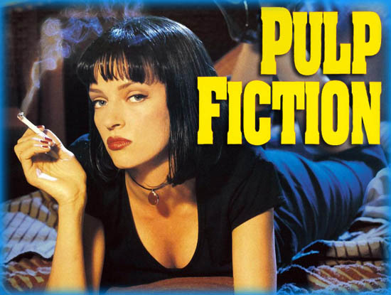 pulp fiction movie review Film review // pulp fiction - 3 & 5 act structure figure 1 pulp fiction movie poster:  pulp fiction does not adhere to one event in fixed time,.