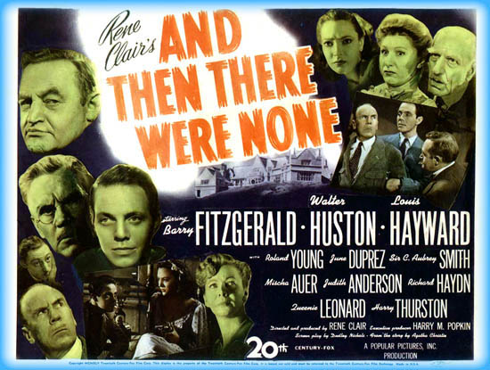 and then there were none movie review film essay and then there were none 1945