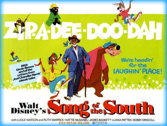 song of the south 1946 movie review film essay
