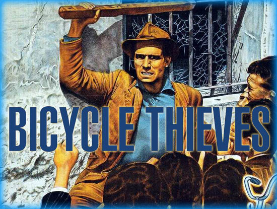 the bicycle thief essay The film was parodied in the 1989 film the icicle thief bicycle thieves was featured in robert altman's 1992 bicycle thieves essay at criterion collection by.