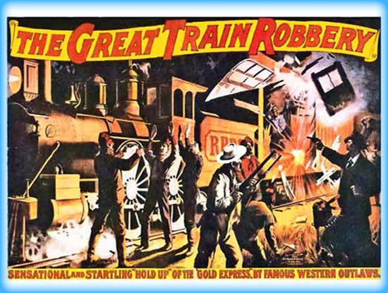 great train robbery the movie review film essay great train robbery the 1903