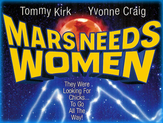 Mars Needs Women Movie Scenes