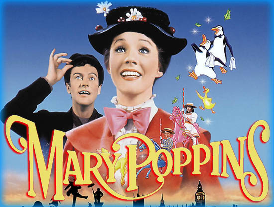 mary poppins 1964 movie review film essay