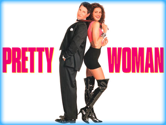 Image result for pretty woman film logo