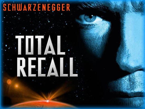 total recall essays At the beginning of total recall, arnold is portrayed as a heavily muscled construction worker whose wife lori (see john's other essays (click here.