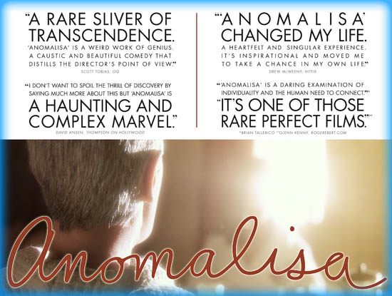 Anomalisa release date