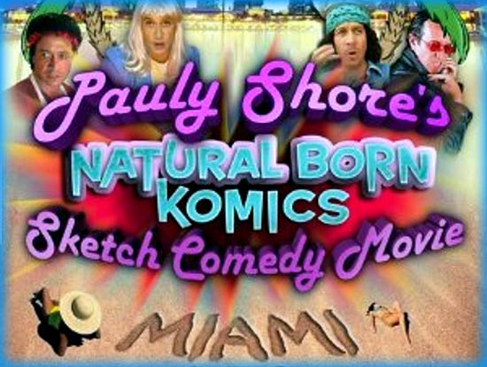Pauly Shore's Natural Born Komics: Miami (2008)