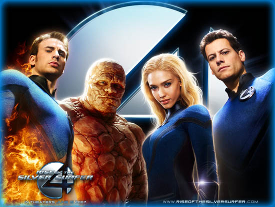 Fantastic Four: Rise of the Silver Surfer (2007)