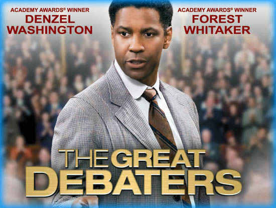 great debaters essay The great debaters is about an underdog debate team that wins a national championship, and some critics have complained that it follows the formula of all sports movies by leading up, through great adversity, to a victory at the end so it does how many sports movies, or movies about underdogs.