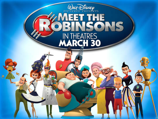 meet the robinsons 2007 movie review film essay