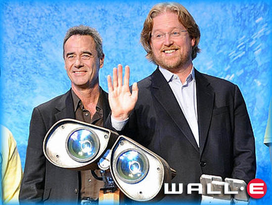 "Interview: Andrew Stanton and Jim Morris from ""WALL·E"""