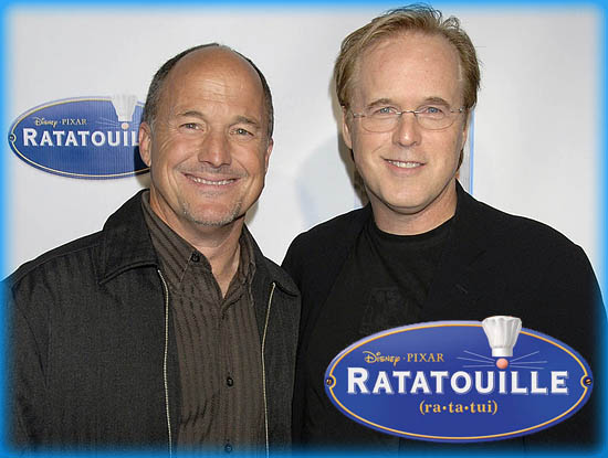 "Interview: Brad Bird and Brad Lewis from ""Ratatouille"""