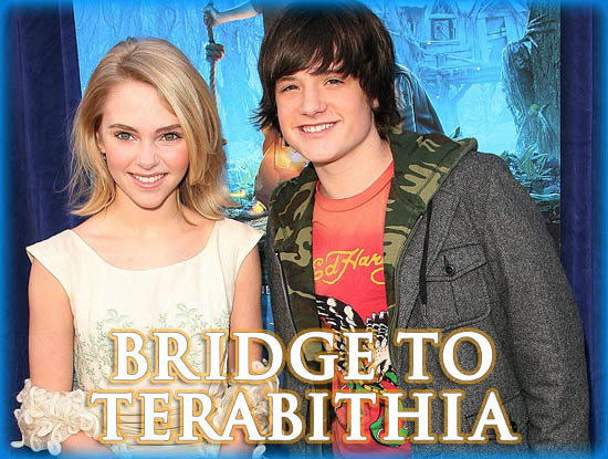 "Interview: AnnaSophia Robb and Josh Hutcherson from ""Bridge to Terabithia"""