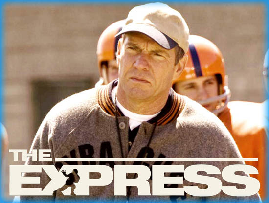 """Interview: Dennis Quaid from """"The Express"""""""