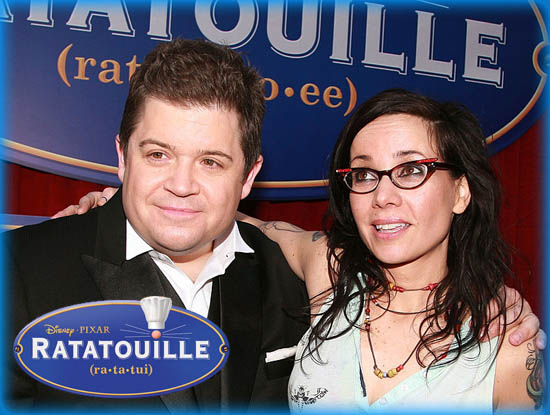 "Interview: Janeane Garofalo and Patton Oswalt from ""Ratatouille"""