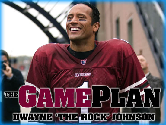interview dwayne quotthe rockquot johnson from quotthe game plan