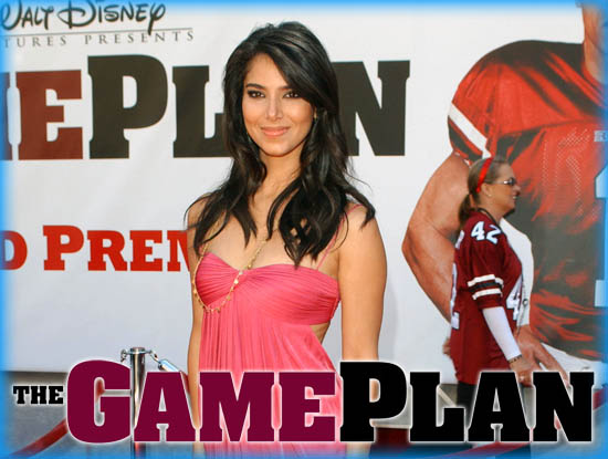 "Interview: Roselyn Sanchez from ""The Game Plan"""
