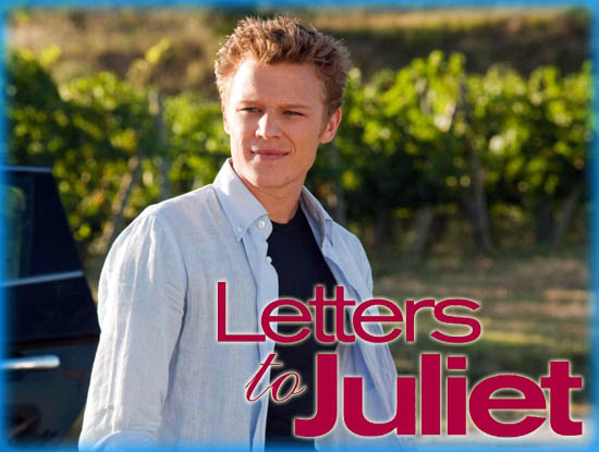 "Interview: Christopher Egan from ""Letters to Juliet"""