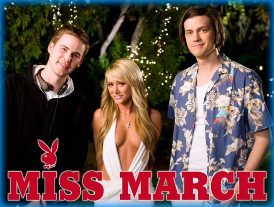 """Interview: Zach Cregger, Trevor Moore, and Sara Jean Underwood from """"Miss March"""""""