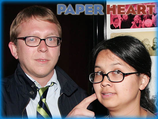 "Interview: Charlyne Yi and Nicholas Jasenovec from ""Paper Heart"""