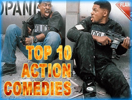 Top 10 Action Comedies