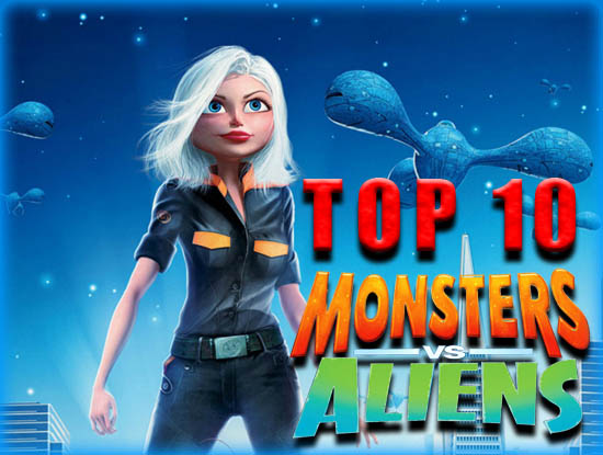 Top 10 Monsters vs. Aliens in Film