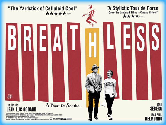 Breathless (À bout de souffle) (1961)
