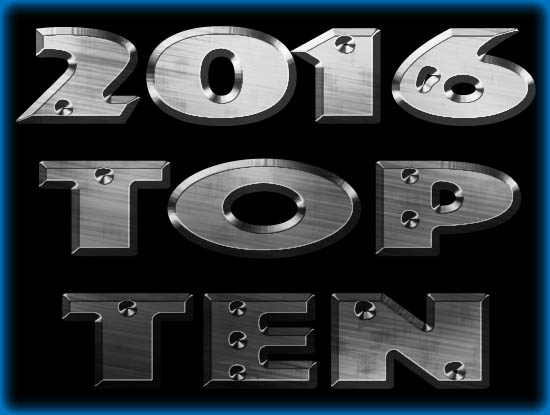 Top Ten Films of 2016