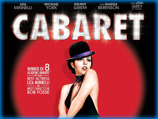 cabaret film anaylsis essay Name tutor course date cabaret acting is an occupation for an actor or actress, that is a person in theatre rooms, film, television, or other storytelling channels who narrate the tale by portraying a character through singing or speaking the written play or text.