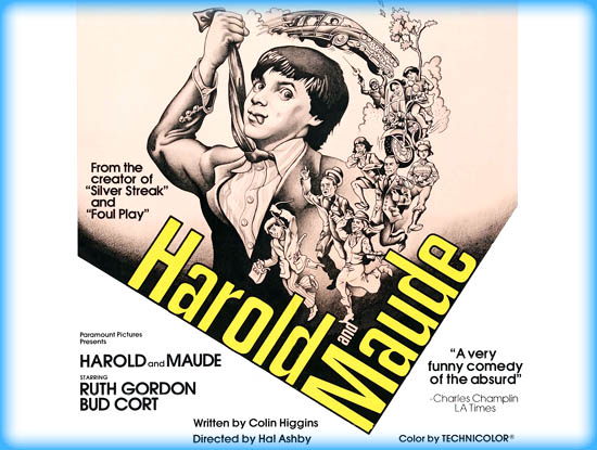 harold and maude an analysis essay Harold and maude is a romantic comedy film that focuses on the contrasts of youth and age, apathy and energy, and life and death harold chasen is a wealthy young man with an obsession with death.