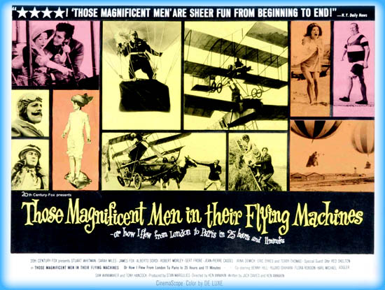 Those Magnificent Men in Their Flying Machines Or How I Flew from London to Paris in 25 hours and 11 minutes (1965)