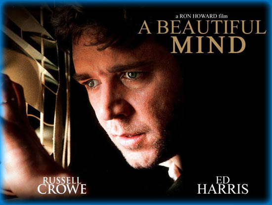 """ron howards a beautiful mind essay Movie beautiful mind essay - the film, """"a beautiful mind"""", directed by ron howard, is based on a true story about a mathematician who overcomes a dreadful mental disorder known as schizophrenia the disability that the main character, john nash, is faced with serves as a."""