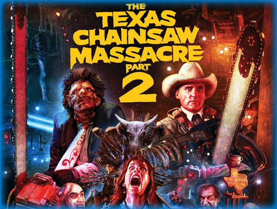 Texas Chainsaw Massacre Part 2, The (1986)
