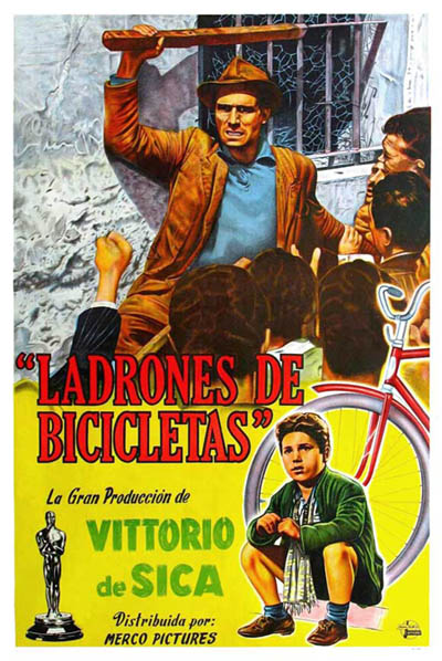 fathers impression on his son in the film bicycle thieves directed by de sica Bicycle thieves (italian: ladri di biciclette often known in the united states as the bicycle thief) [3]) is a 1948 italian film directed by vittorio de sica the film follows the story of a poor father searching post-world war ii rome for his stolen bicycle, without which he will lose the job which was to be the salvation of his young family.