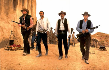 The Wild Bunch movie William Holden, Ernest Borgnine, Robert Ryan, Warren Oates, Elsa Cardenas, Aurora Clavel