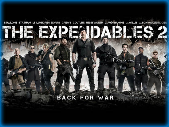 The Expendables 2 2012 Movie Review Film Essay