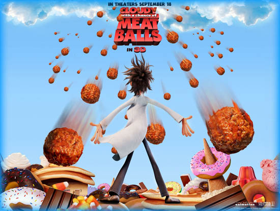 Cloudy With A Chance Of Meatballs 2009 Movie Review Film Essay