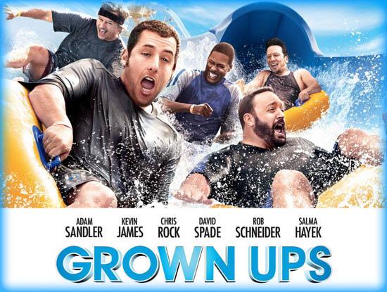 Grown Ups (2010) - Movie Review / Film Essay