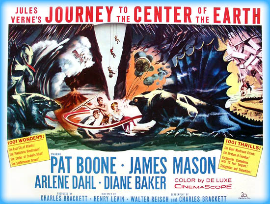 Image result for 1959 movie journey to the center of the earth