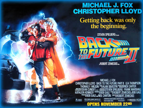 Back To The Future Part Ii 1989 Movie Review Film Essay