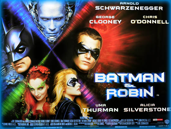 Batman Robin 1997 Movie Review Film Essay