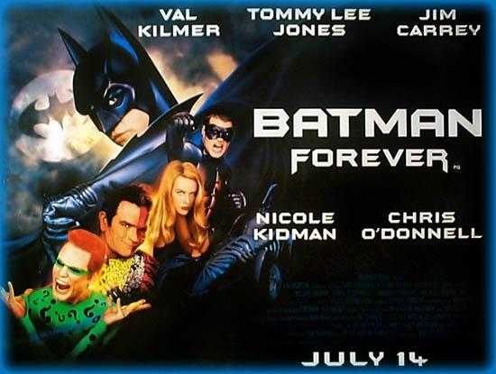 Batman Forever 1995 Movie Review Film Essay