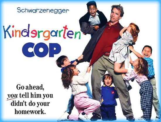 Kindergarten Cop 1990 Movie Review Film Essay