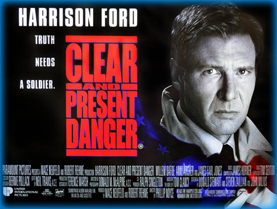 Clear And Present Danger 1994 Movie Review Film Essay
