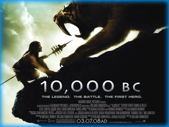 10 000 B C 2008 Movie Review Film Essay